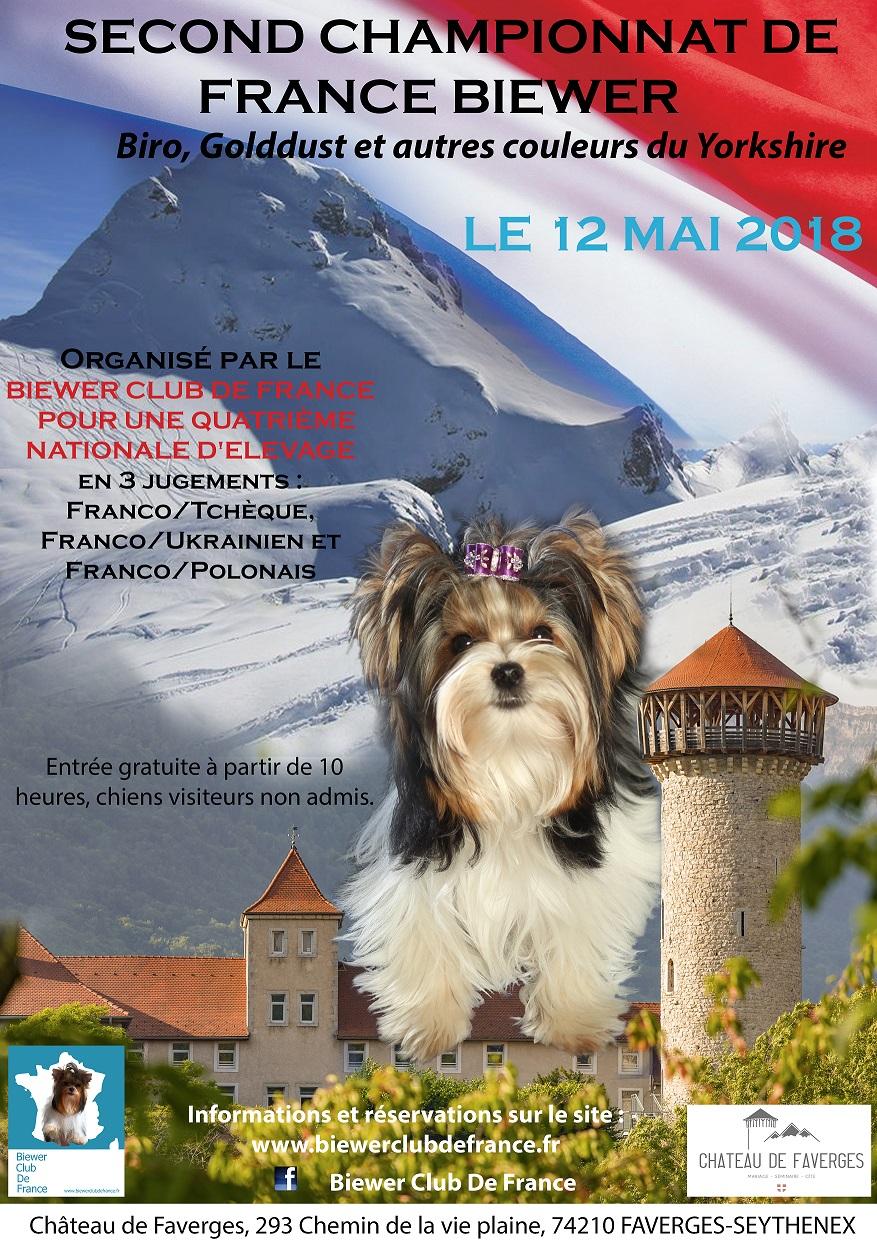 Affiche championnat de france 2018